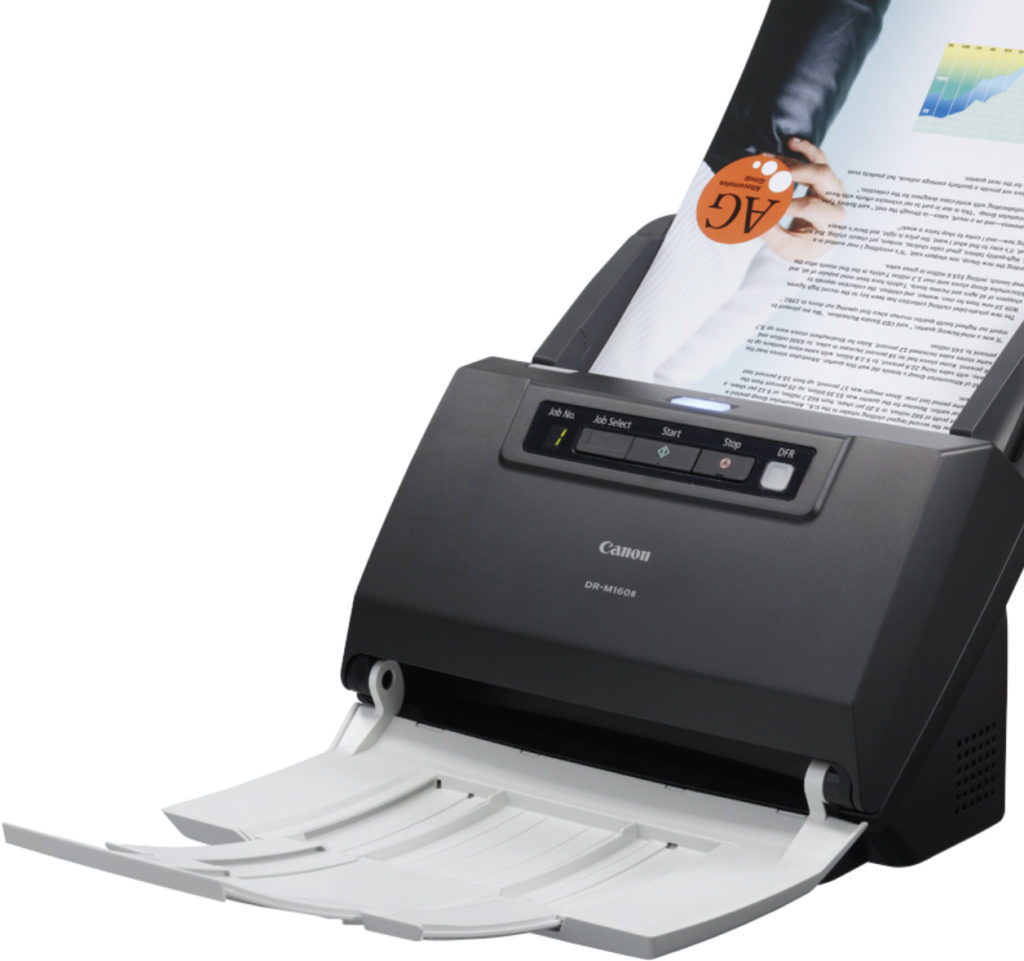 A photo of a scanner